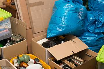 Boxes and bags for junk removal